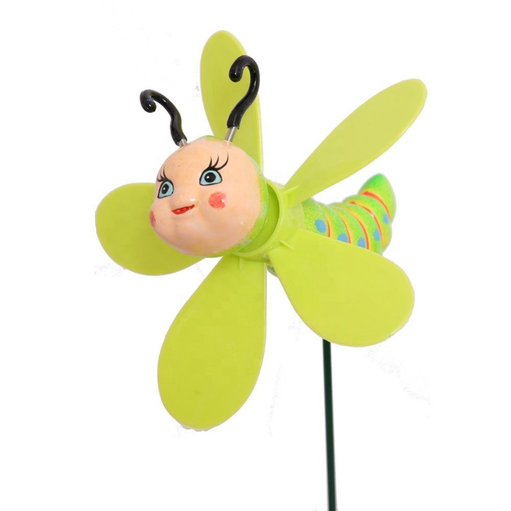 Osgoodway8 KM_17001 New Arrival!!! Cheaper Garden Decoration Wind-spinner Insect stakes for yard decorations