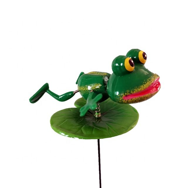 Osgoodway China wholesale Multi Frog Plastic animal funny garden ornament outdoor for yard decor