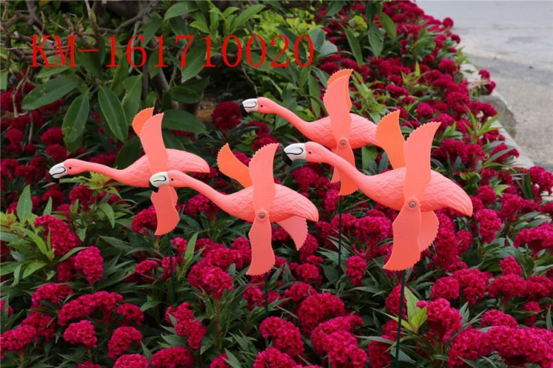 product-Osgoodway-Osgoodway8 Private Design DIY Logo Great Price Garden Ornament Plastic Flamingo Wi