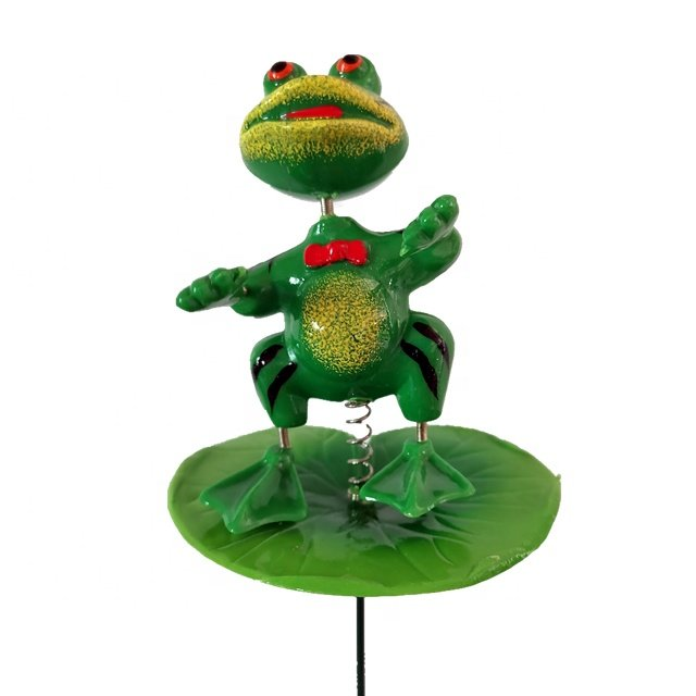 Osgoodway wholesale high quality toy green Frog animal ornament garden decor for outdoor