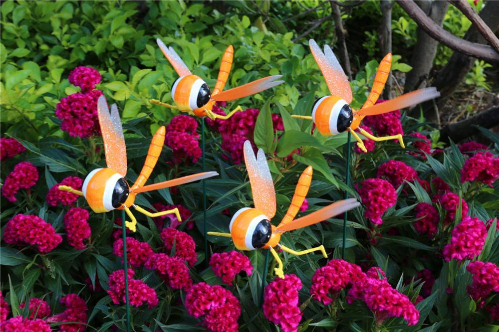 product-Osgoodway8 KM_161710005 Free Sample Plastic Garden Picks dragonfly wings Moving In Garden-Os-1
