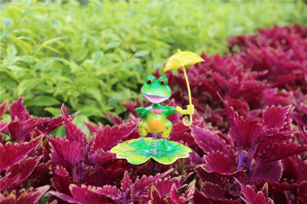 product-Osgoodway private design factory direct sale Plastic Ornaments Garden Insect Picks Stick For-1