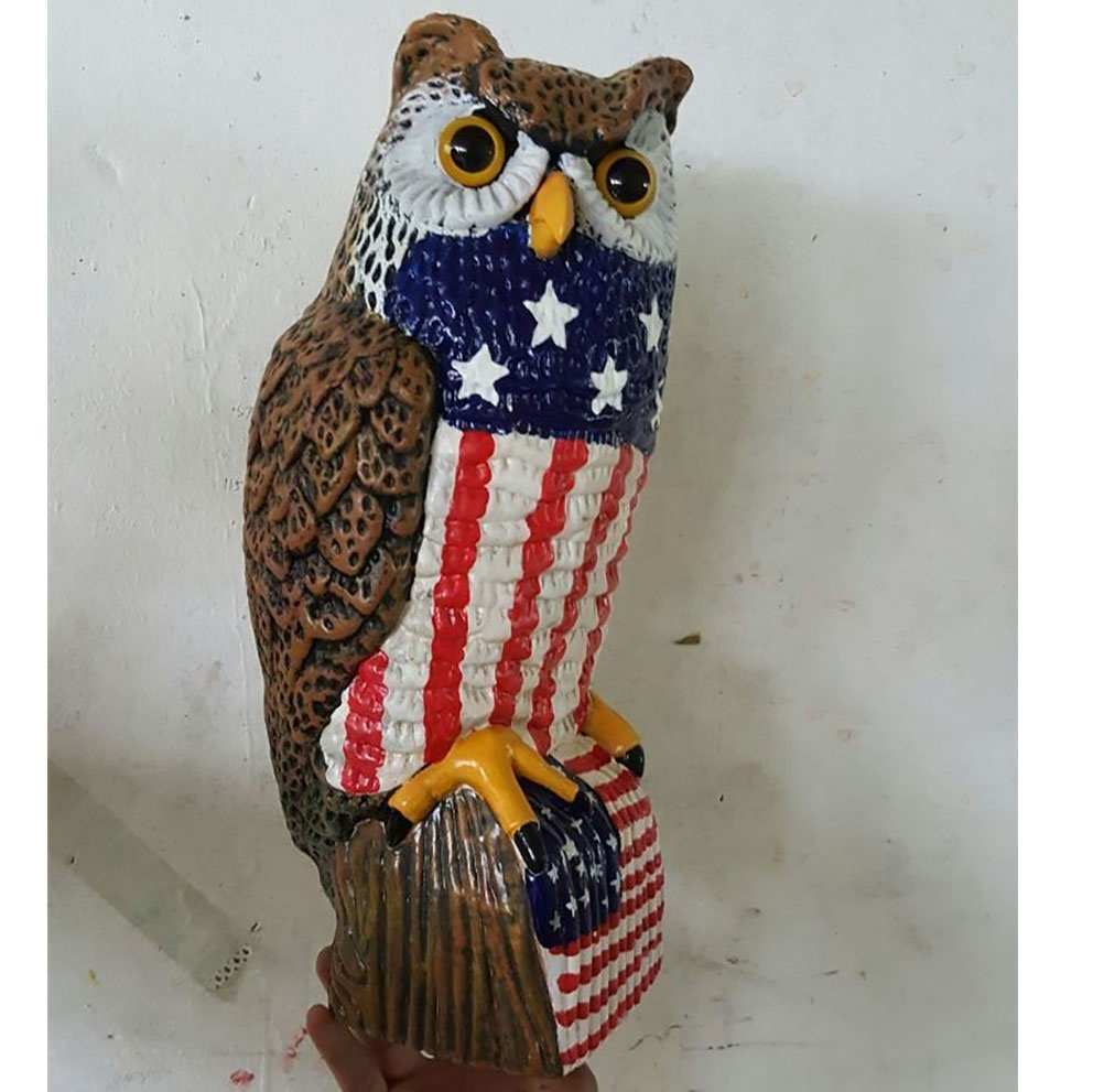 product-Osgoodway-OSGOODWAY plastic best seller garden ornaments owls night owl sculpture for outdoo