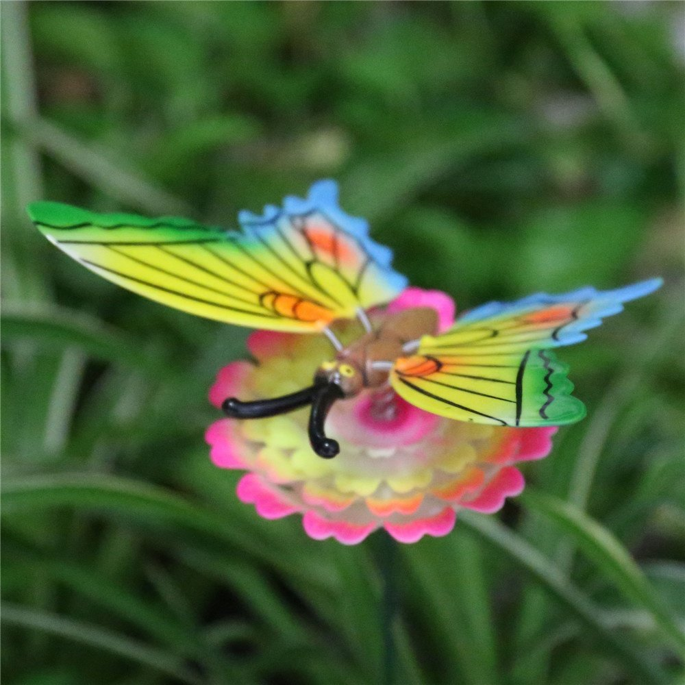 product-Osgoodway Wholesalehigh qualityPlastic Butterfly Garden StakesFlower Garden Decor-Osgoodway--1