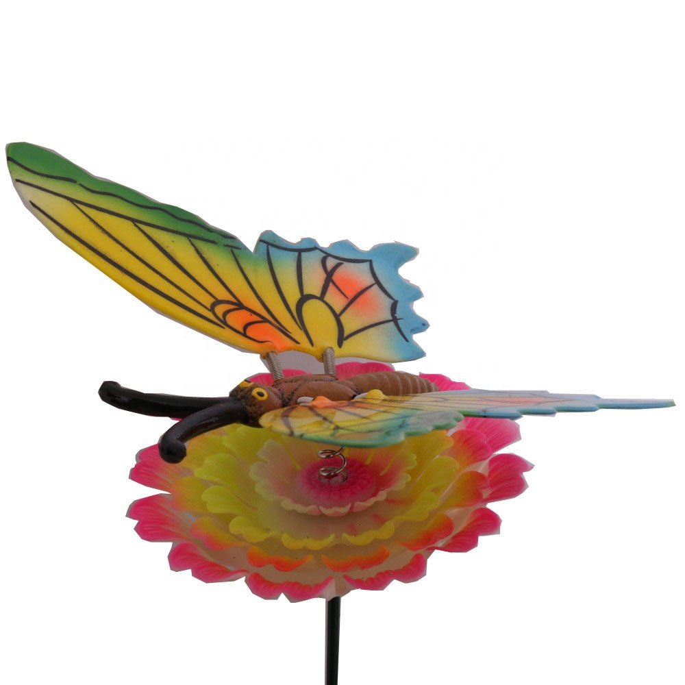 product-Osgoodway-Osgoodway Wholesalehigh qualityPlastic Butterfly Garden StakesFlower Garden Decor