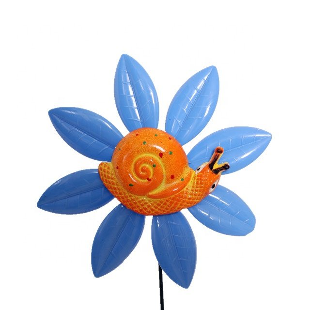 product-Osgoodway Newest kid products Garden Plastic flower model multicolor flower windmill decor f-1