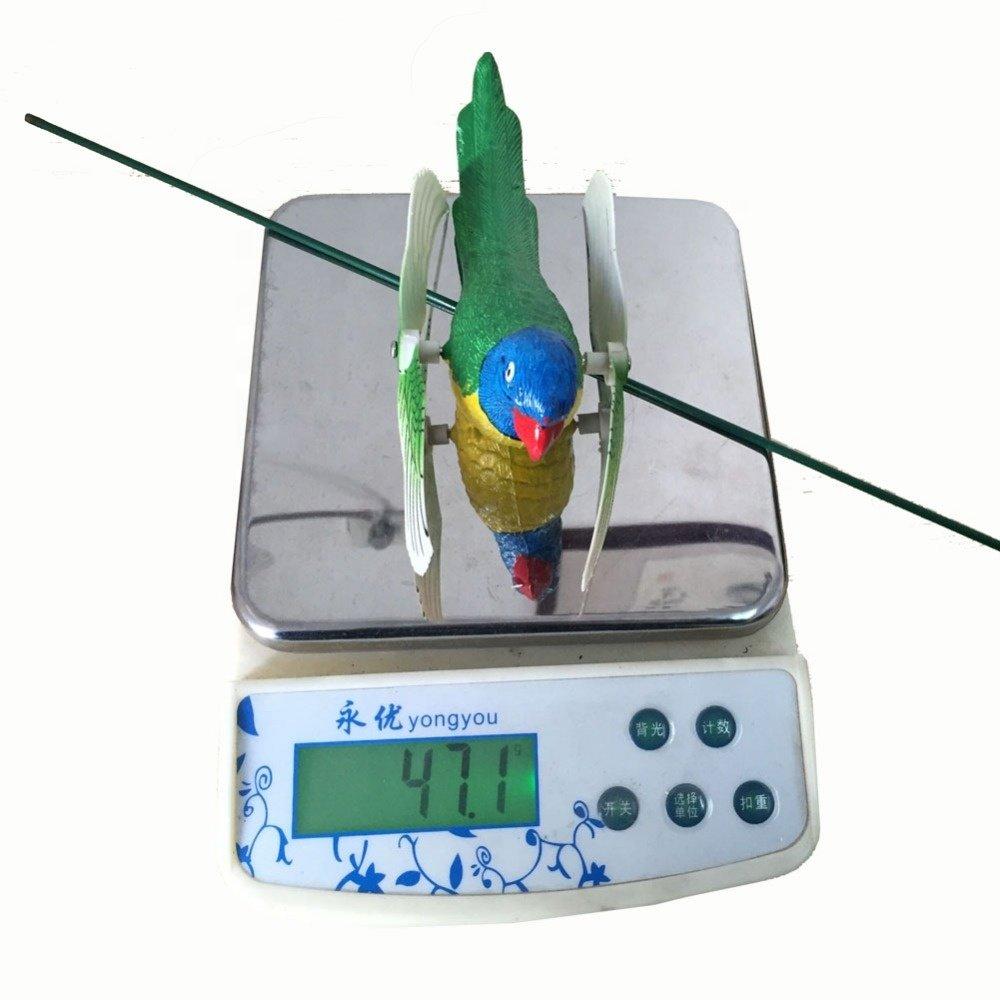 product-Osgoodway Wholesale Garden Ornaments Decoration Plastic Parrot Fan Stake Garden Decor For Ou-1