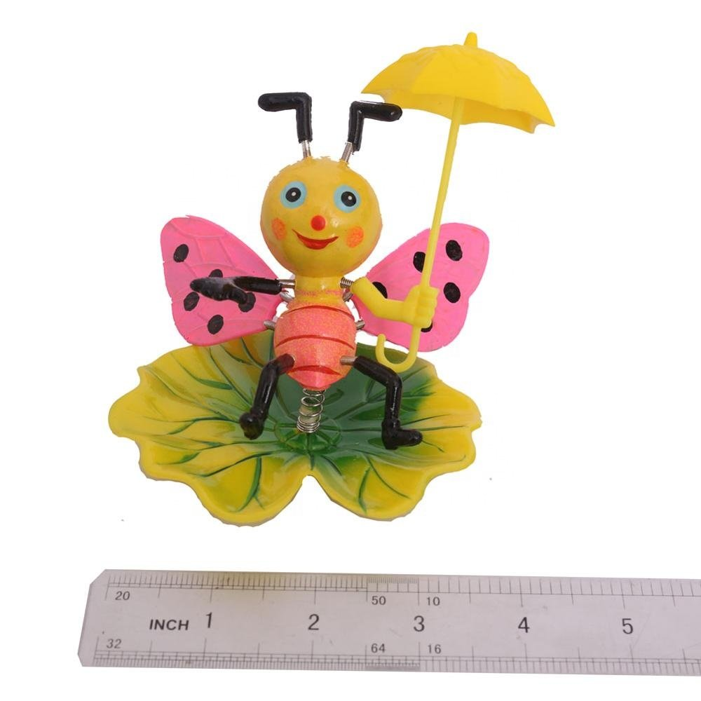 product-Osgoodway Newest design standard size with great priceBee with umbrella garden stakes plasti-1