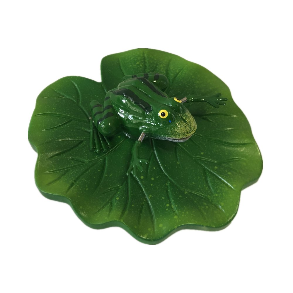 Osgoodway New Product Wholesale Plastic Floatable Cute Frog Outdoor Garden Decoration for yard ornaments