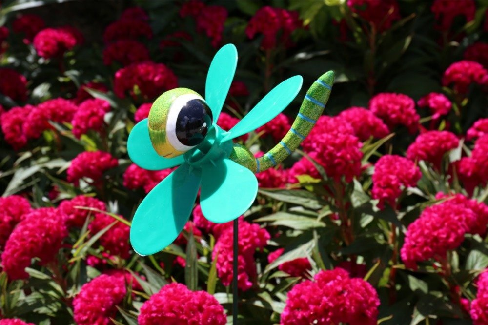 product-Osgoodway-Osgoodway8 KM_151520010 Wholesale China Manufacturer Plastic Dragonfly Wind Spinne