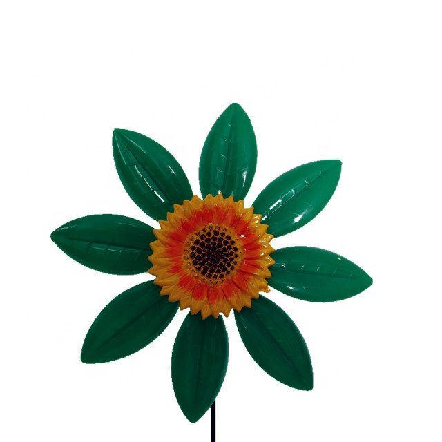 product-Osgoodway-Osgoodway Newest design Garden Ornament sunflower Plastic flower fashion decor mod