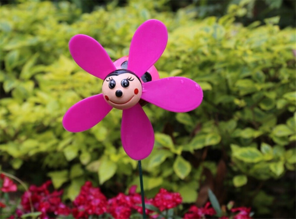 product-Osgoodway Hot Selling China Manufacturer Plastic Beetle garden Wind Spinners Wholesale-Osgoo-1