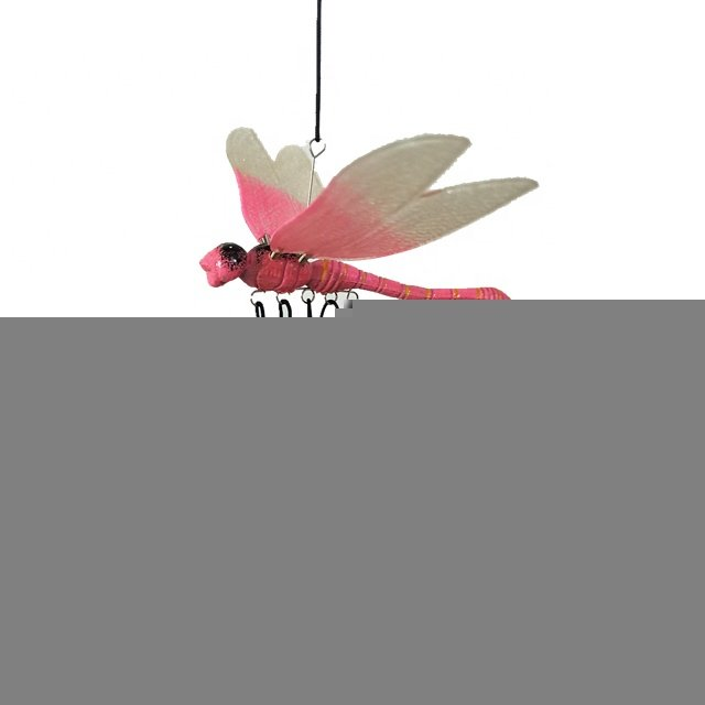 Osgoodway New Products wholesale high qualityGarden Decoration Plastic Outdoor Dragonfly Wind Chime