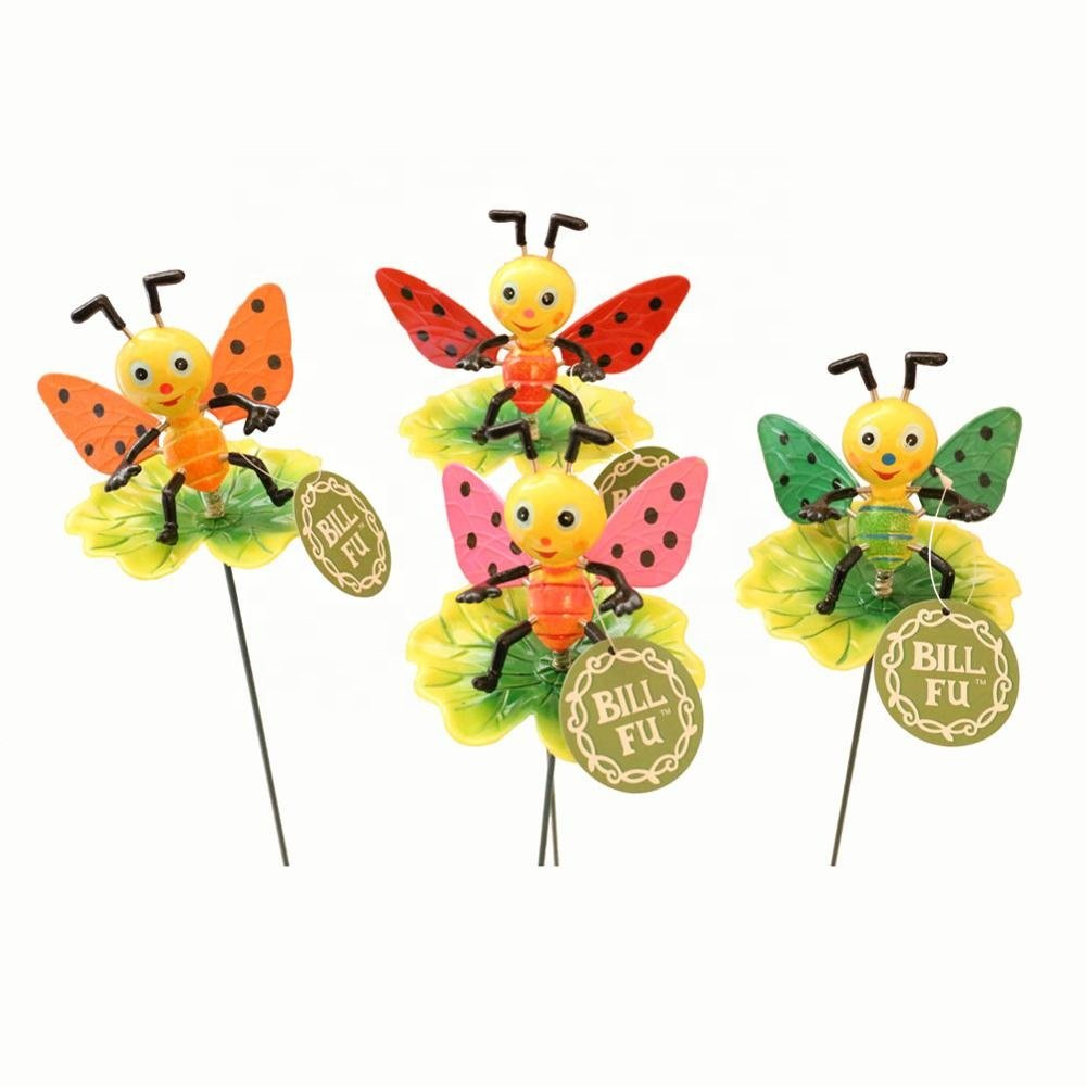 product-Osgoodway-Osgoodway8Factory Price Simulation Plastic Garden Ornament Stakes with Small Bird