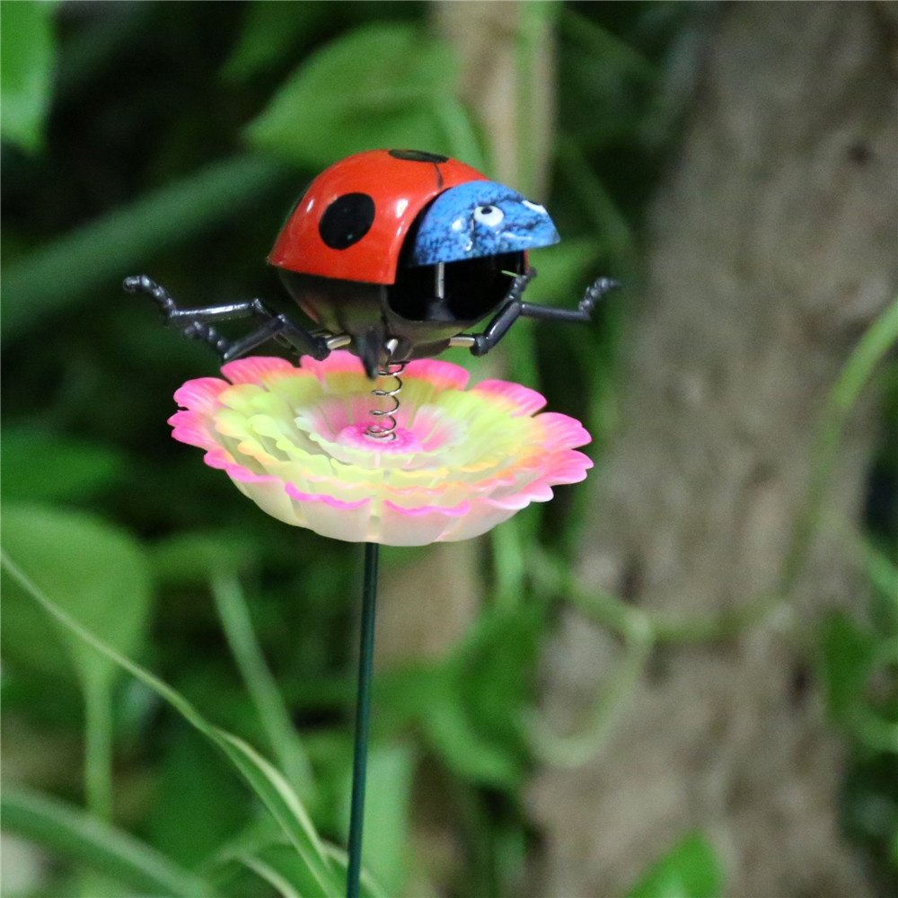product-Osgoodway-Osgoodway China Wholesale High quality Ladybird Miniature Insect Garden Ornament G