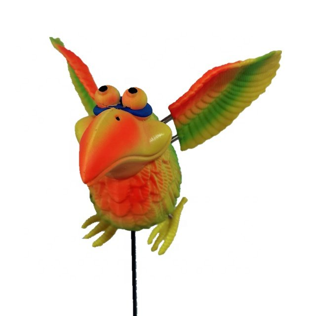 Osgoodway Hot Sale Wholesale Bird Toy Cute Parrot funny Bird ornament garden decor