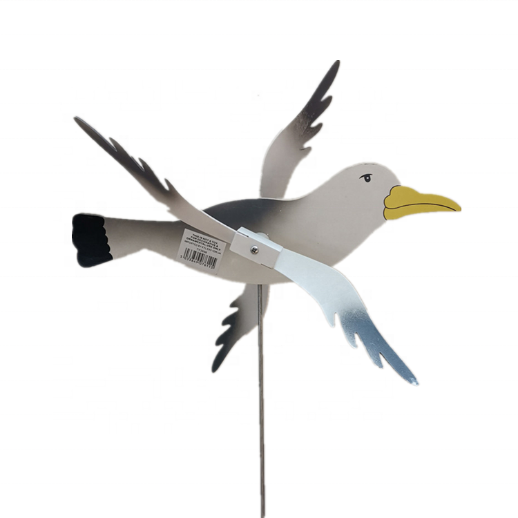 Osgoodway1 Factory Outlet Hot Sales Home Decoration pieces Wooden Sea Gull Garden Stakes