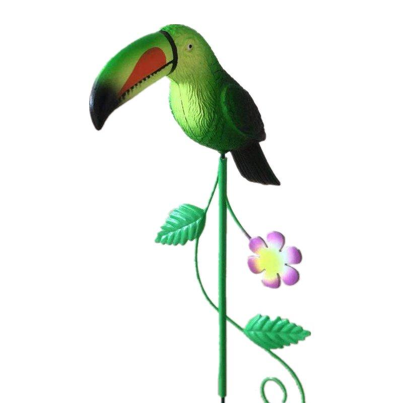 Osgoodway China Wholesale High Quality Small Toucan Bird Metal Garden Ornament Hylaea Animal Toys Decor