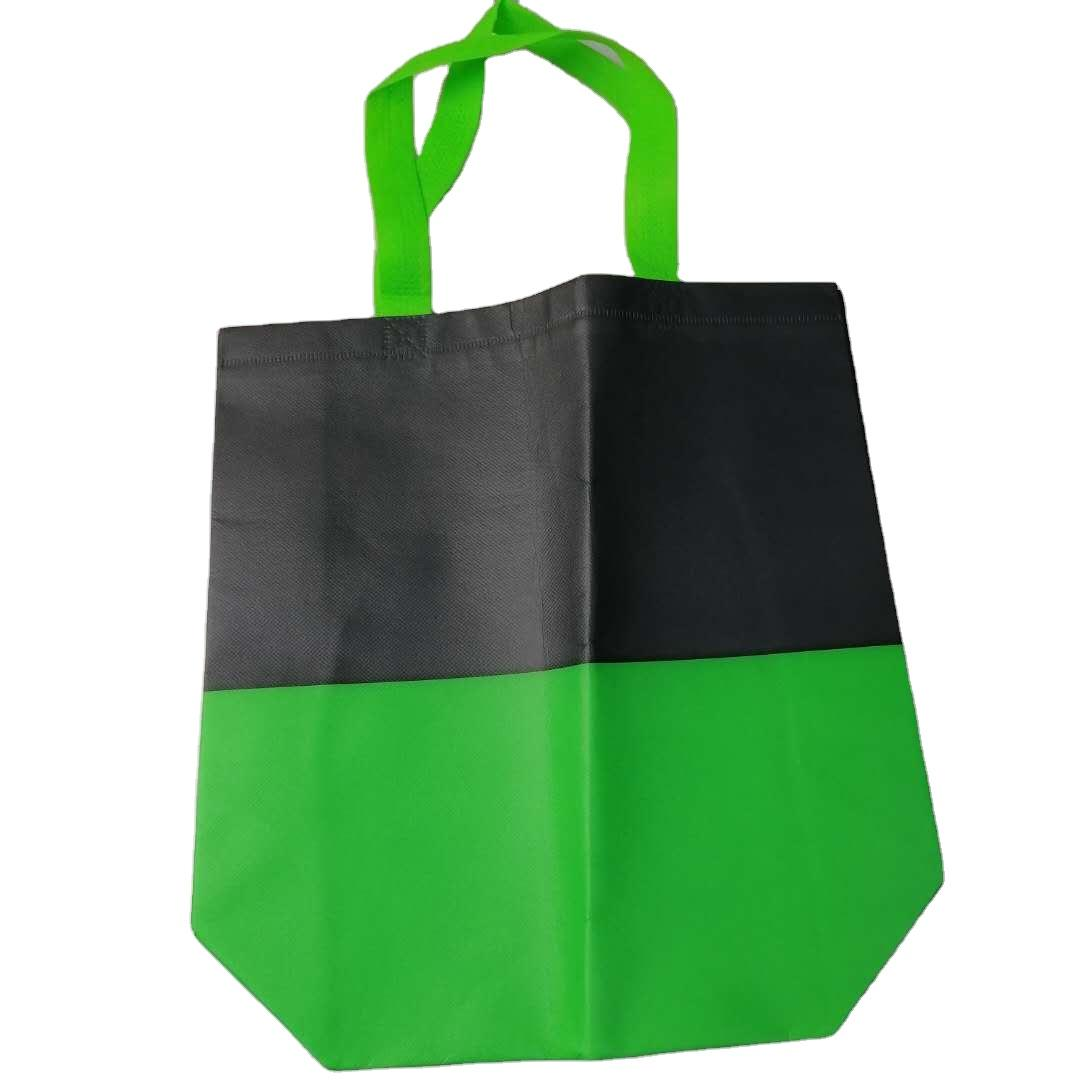 Customized company's special pp spunbond non woven fabric shopping bag