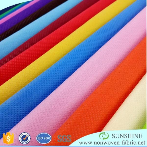 China polypropylene spunbond nonwoven pp non woven fabric manufacturer