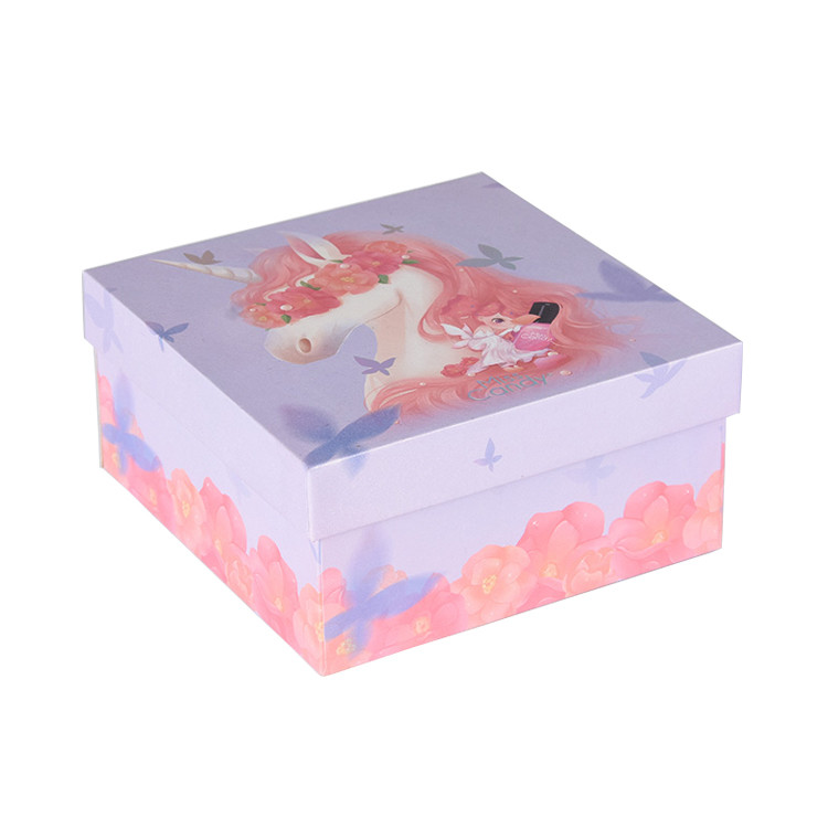 Personalized Packaging Gift Box Child Birthday 3d Gift Box for Toy Display