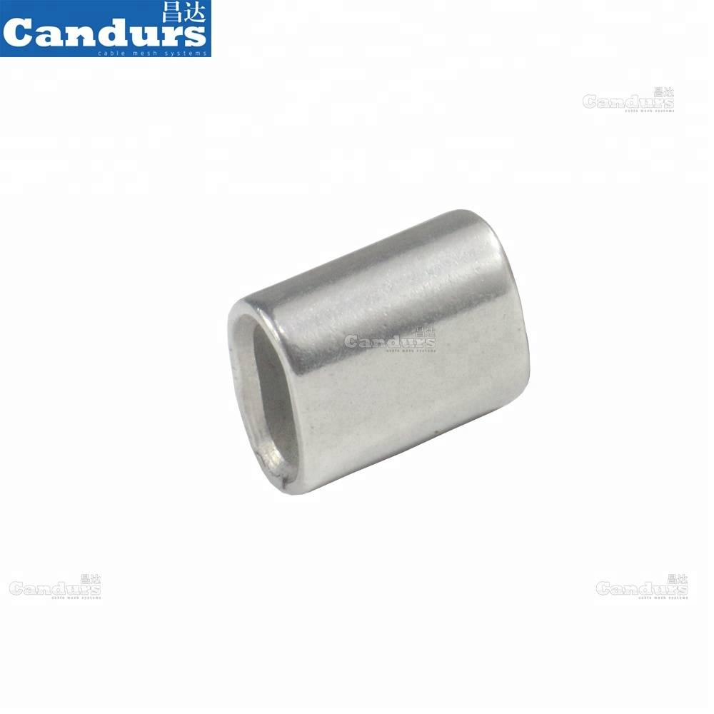 1.0mm-18mm 316 Stainless Steel Cable Sleeve Wire Rope Crimping Sling Ferrule