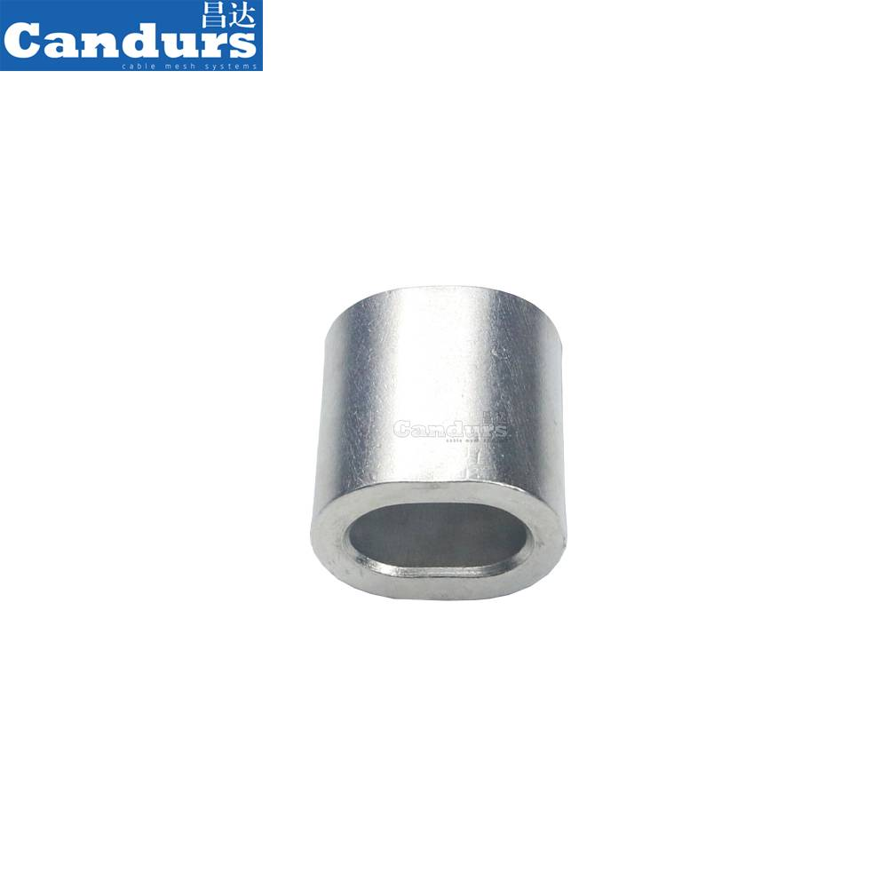 2 mm Seamless 316 Stainless Steel Wire Rope Ferrule