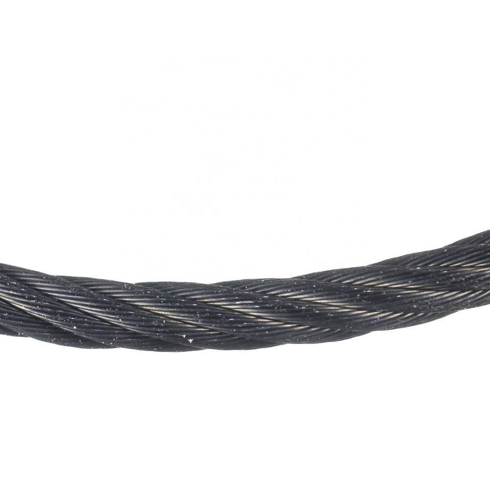 1mm-4mm Black Oxide Inox Cable Stainless Steel Wire Rope