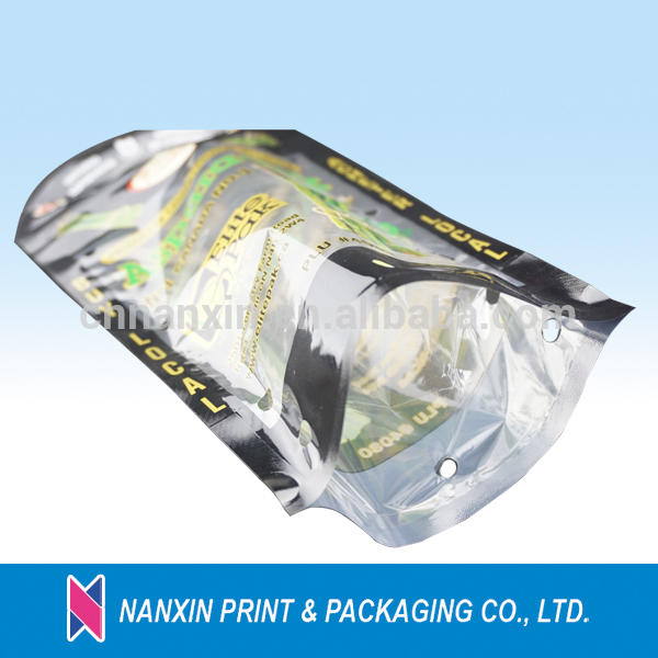fresh vegetables packaging plastic bag