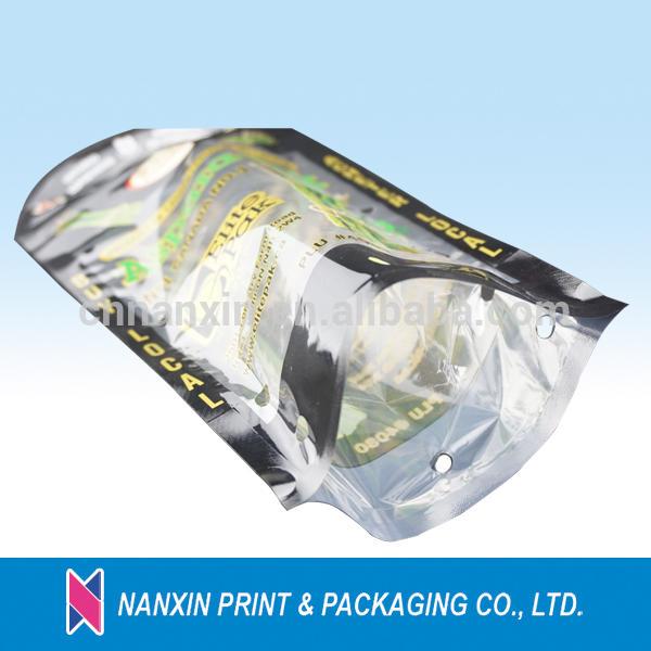 fresh vegetables packaging plastic bag