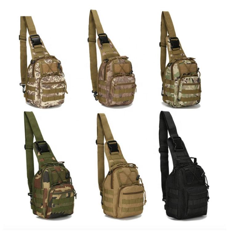 Osgoodway2 Small Tactical Sling Bag Pack Military Rover Shoulder Sling Backpack Molle Assault Range Bag