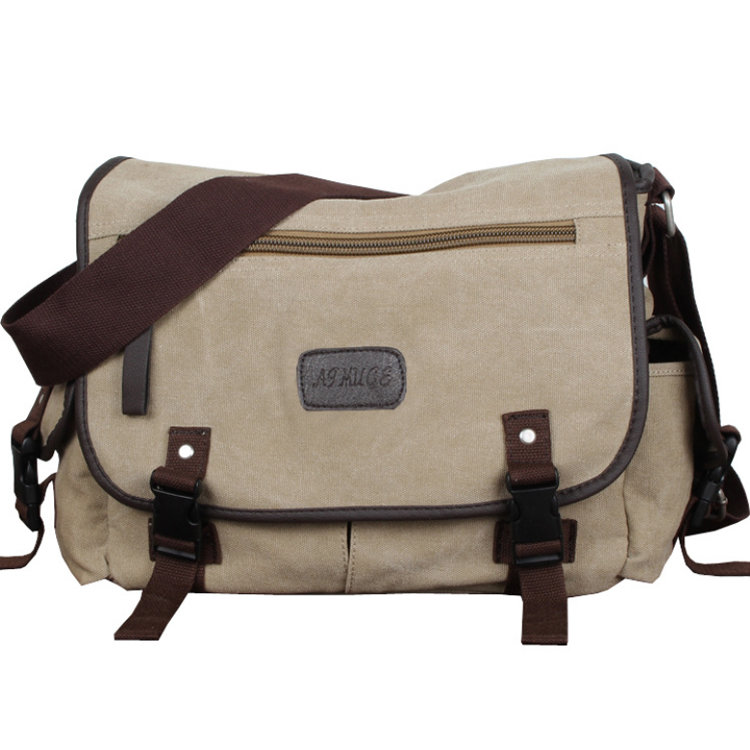 product-Osgoodway-Osgoodway Custom Vintage Style Blank Canvas Messenger Bags Men Cross Body Bag-img