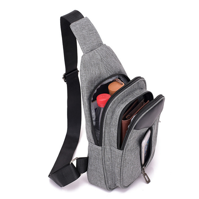 product-Osgoodway Oxford Men Casual Custom Logo Fashion Designer Crossbody Shoulder Bag for Travel B-1