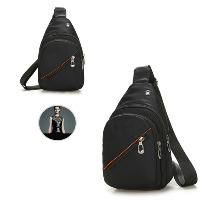 product-Osgoodway-Osgoodway Casual Outdoor Women Men Cross Body Shoulder Bag with Headphone Port-img