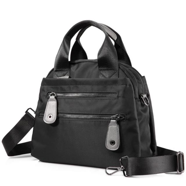 product-Osgoodway Large Capacity Travel Casual Women Nylon Waterproof Shopping Women Bag Luxury Desi-1