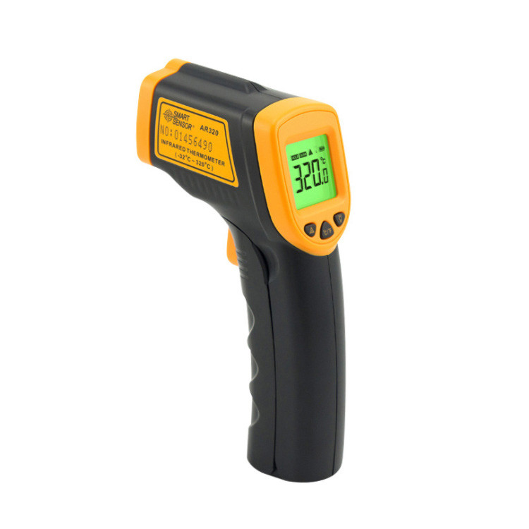 Best Price Gun handheld Type Industrial Digital Non-contact Laser Infrared IR Thermometer with Backlight Display
