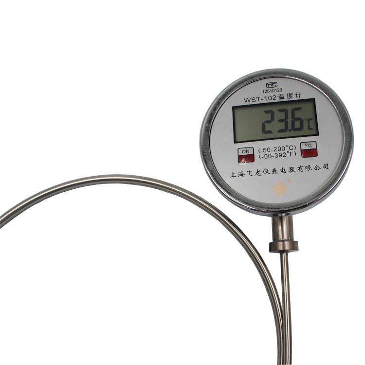 Factory price China manufacture digital bimetal bimetallic thermometer WST-102 for industrial temperature measuring