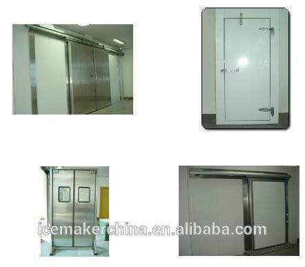 cool room panel with doors