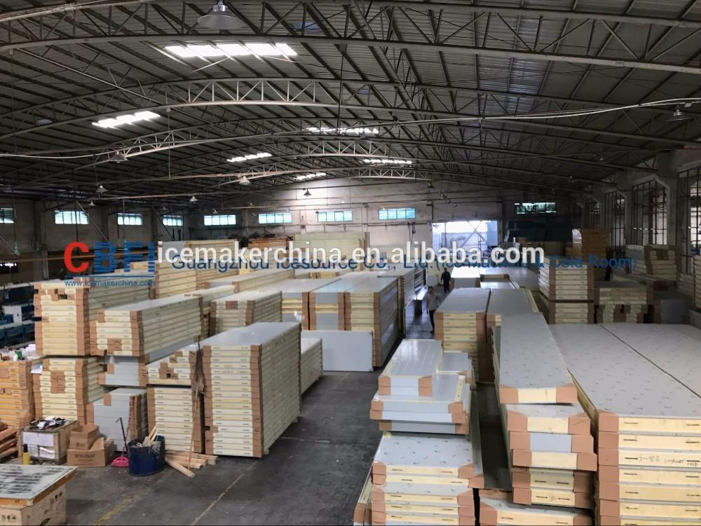 PU with color steel cold room panel,cold room plate