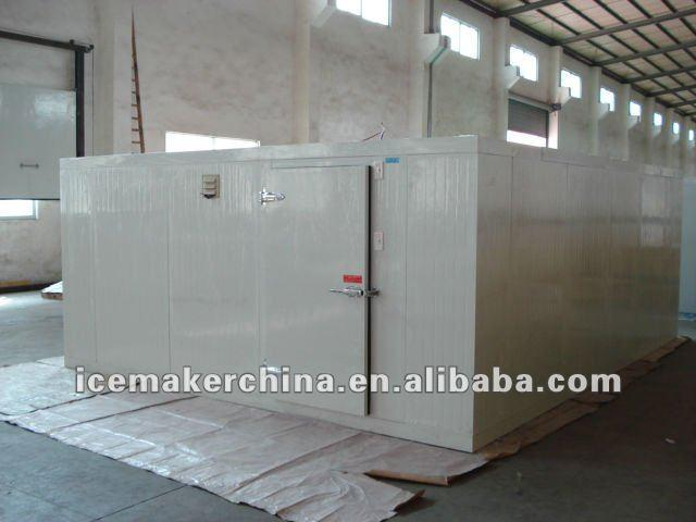Cameroon cold room for seafood cooling