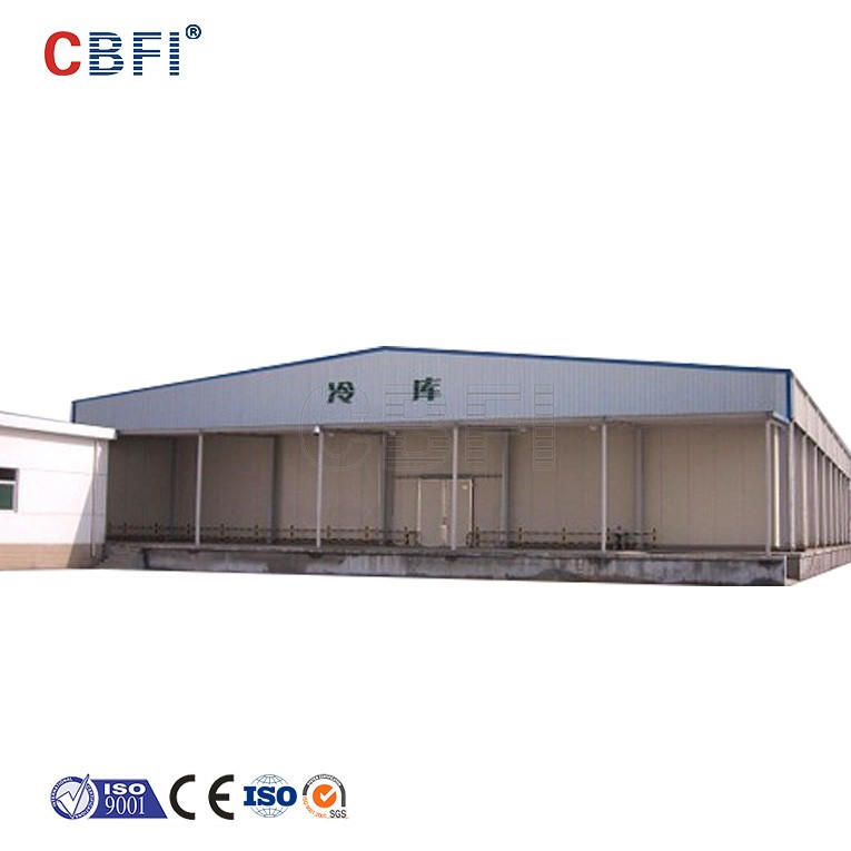 cooling system temperature controls 5000t tomato Cold Storage Cold Room Machine for sale for ice cream