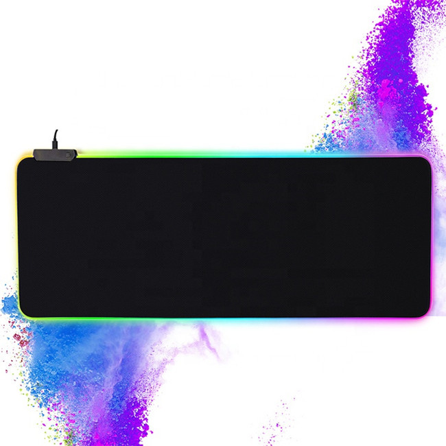 Laptop decoration rgb mouse pad sublimation for gaming