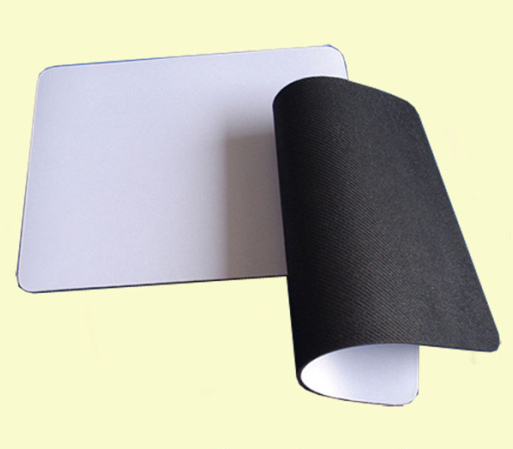 Plain white fabric thin mouse pad,cheap mouse pads