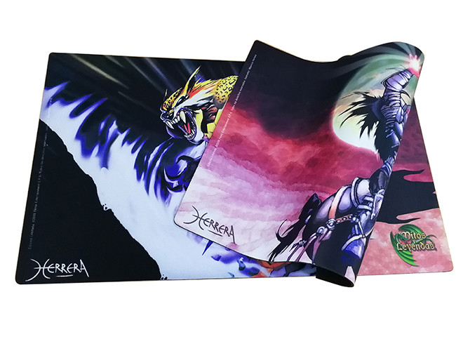 Special design extra size gaming playmat rubber waterproof gaming mouse pad