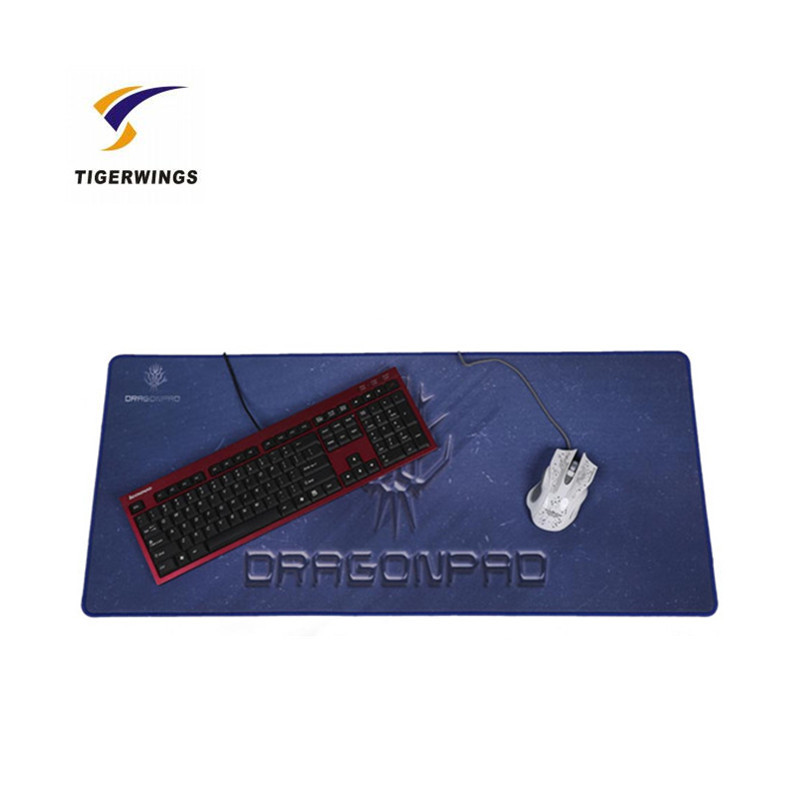 Tigerwingspad new design heat print rubber mouse pad
