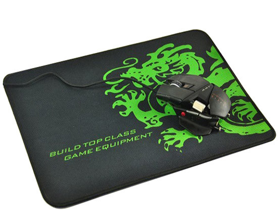 Cheap Low moq promotional custom size rubber mouse pad with logo printing