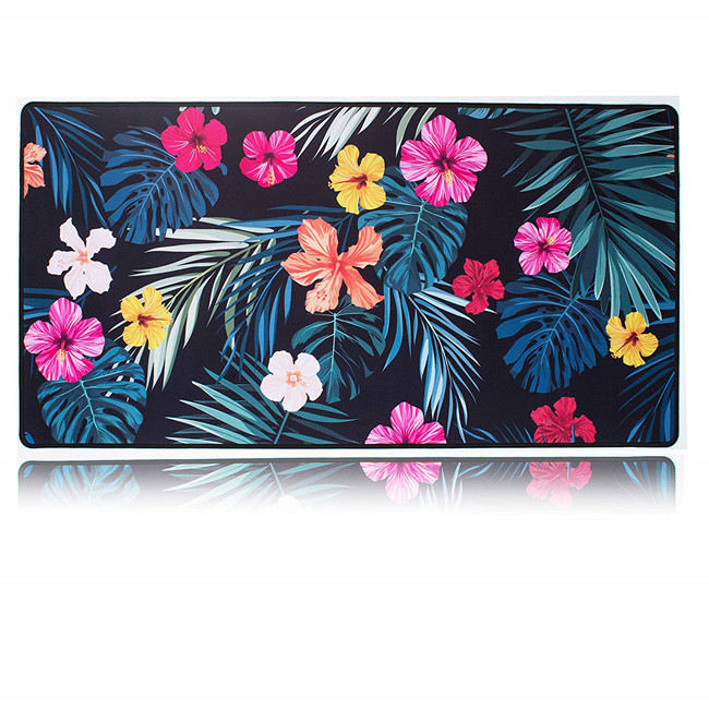 2020 best budget computer polyester desk mat, rubber mouse pad for office