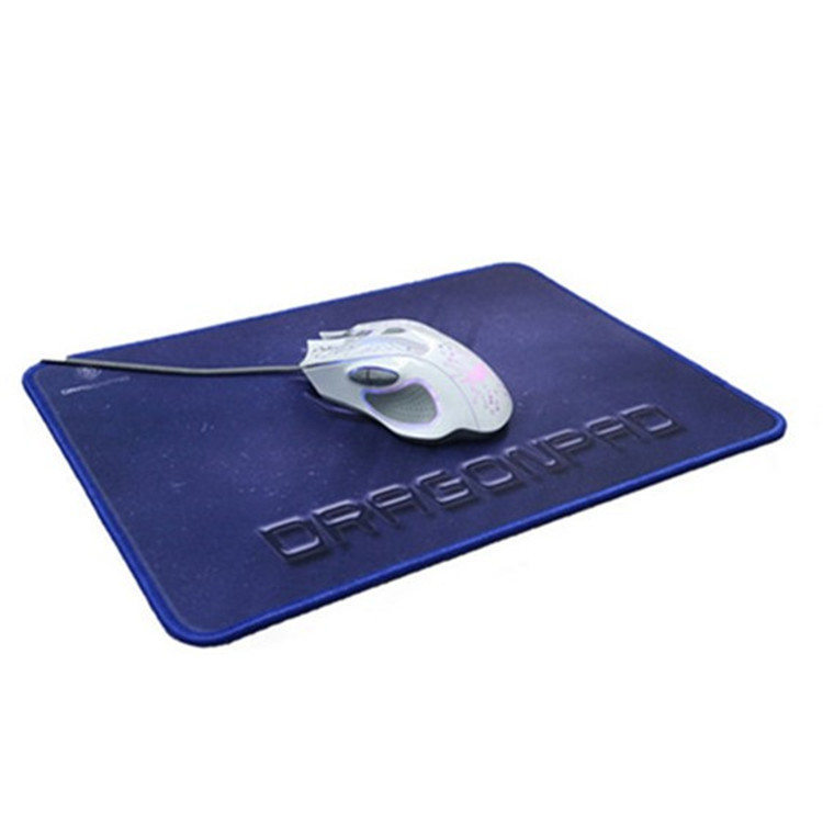 Creative custom die cut rubber microfiber cloth personalized printing mouse pad
