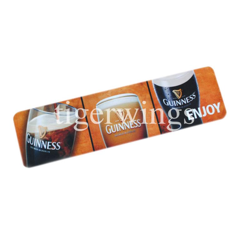Custom rubber bar dripmat, bar mat bar mat using / Tigerwings