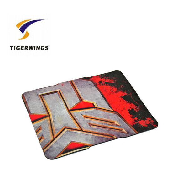 Sublimation printing anime stylish playmat non-slip rubber smooth fabric opera mouse pad